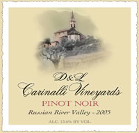 2005 Pinot Noir - Russian River Valley - Sonoma County