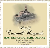 2007 Estate Chardonnay - Russian River Valley - Sonoma County