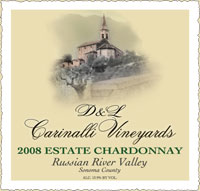 2008 Estate Chardonnay - Russian River Valley - Sonoma County