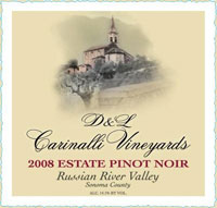 2008 Pinot Noir - Russian River Valley - Sonoma County