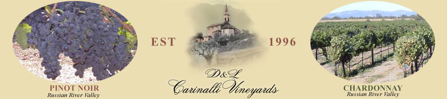 D and L Carinalli Vineyards, Established in 1996